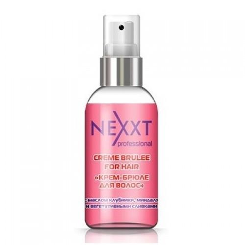 """""""Крем-брюле для волос"""" с маслом клубники, миндаля и вегетативными сливками Nexxt Creme Brulle For Hair 50 мл"""