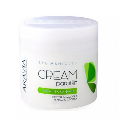 ARAVIA Professional, Крем-парафин «Натуральный»  с молочными протеинами и маслом хлопка, 300 мл