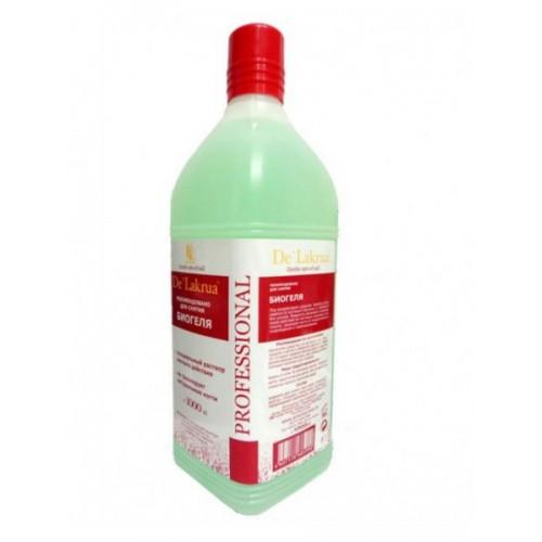 Жидкость для снятия биогеля De' Lakrua, 1000 мл