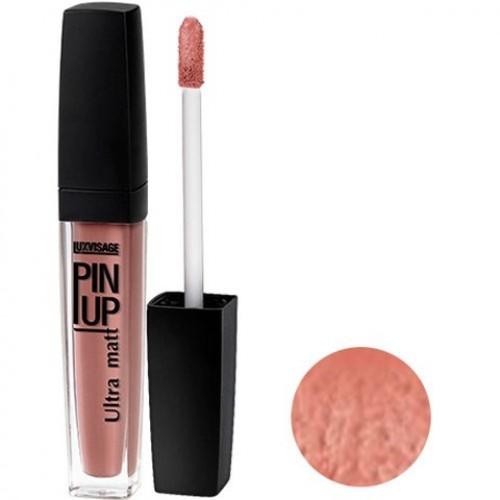 Блеск для губ PIN-UP тон 24 Карамельный поцелуй (Lux Visage)