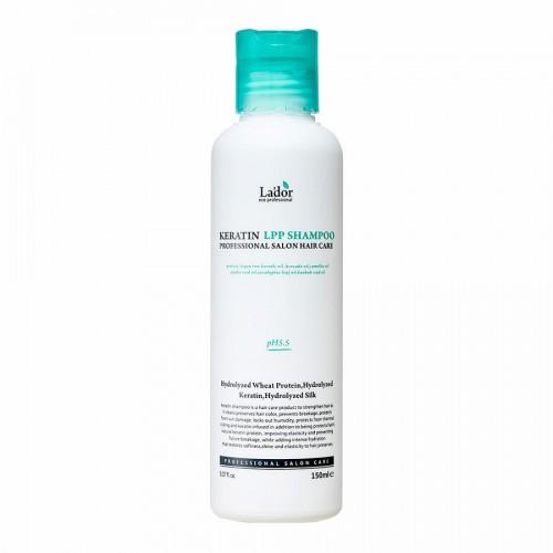 Безсульфатный шампунь с кератином для волос La'dor Keratin Lpp Shampoo 150мл La'dor