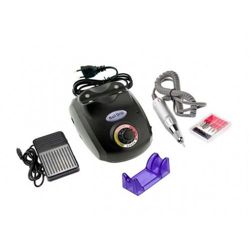 Аппарат для маникюра и педикюра «Nail Drill 505, 30 000 об/40Вт» Черный