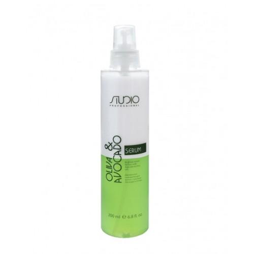 Двухфазная сыворотка для волос с маслами Авокадо и Оливы Kapous Studio Professional 200 мл
