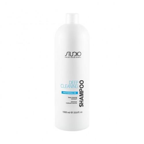 Шампунь глубокой очистки для всех типов волос Kapous  Studio 1000мл