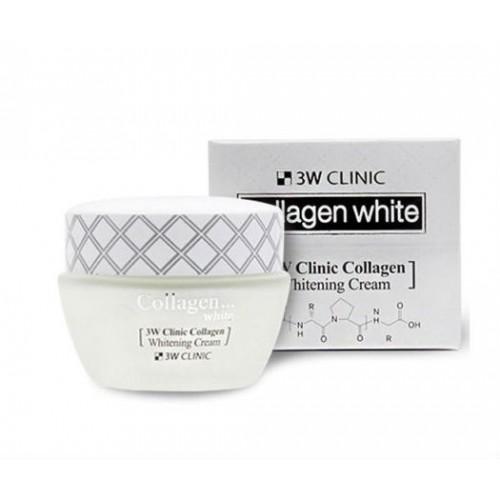 ОСВЕТЛЕНИЕ Крем д/век с коллагеном Collagen Whitening Eye Cream, 35 мл [3W CLINIC]